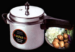 Pressure Cookers - Outside Lid